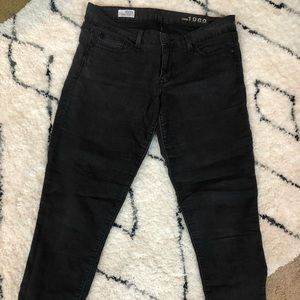 Gap black Women's size 10/30 always skinny jeans